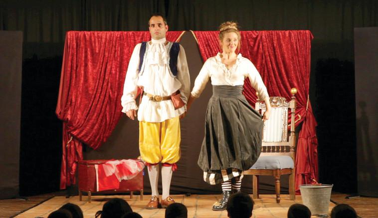 """ההצגה """"בובו ולוסינדה"""". מתאימה לילדים בגילים 4-10. צילום: רוני פרל"""