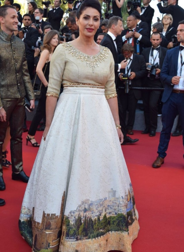 השמלה של מירי רגב. צילום: אלי סבתי