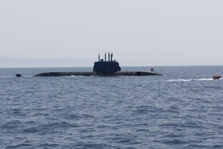 """תרגיל שייטת הצוללות. צילום: דובר צה""""ל"""