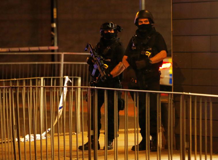 עקב הפיגוע במנצ'סטר: רמת הכוננות בבריטניה הועלתה לגבוהה ביותר