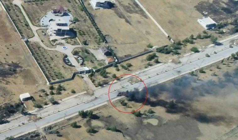 תיעוד תקיפה של חיל האוויר בסוריה. צילום מסך