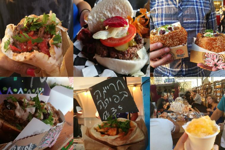 עוד מנות ב-Food Truck Disco. צילום: אסנת גואטה