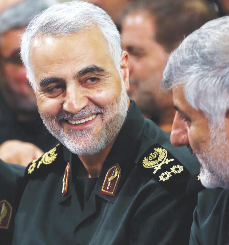 משתמש במשמרות המהפכה כקבלן ביצוע. קאסם סולימאני. צילום: AFP
