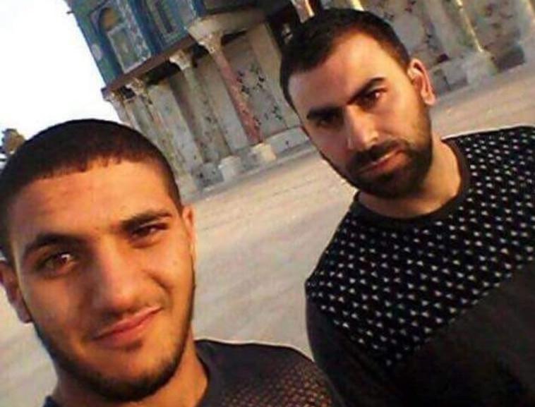 המחבלים מהפיגוע בהר הבית. צילום: פייסבוק