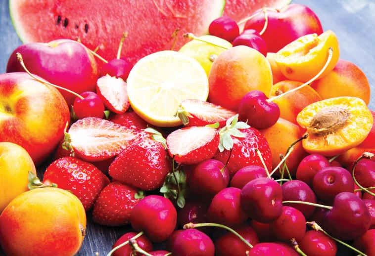 משלבים טעם, ויטמינים, סיבים ונוגדי חמצון. פירות טריים, צילום: אינג אימג'