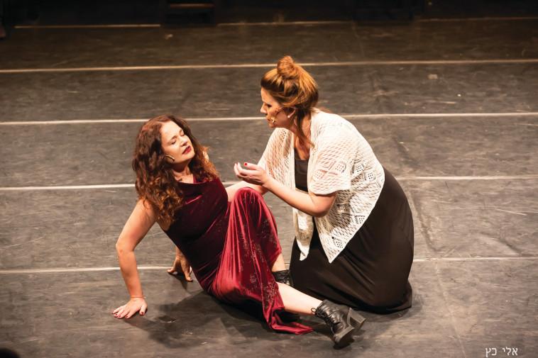 """דליה שימקו """"שייקספיר מתהפך בקברו"""", צילום: אלי כץ"""