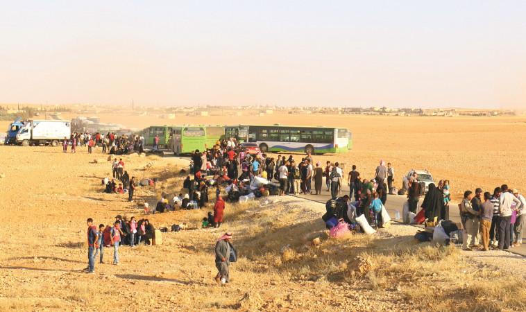 פליטים סורים. צילום: רויטרס