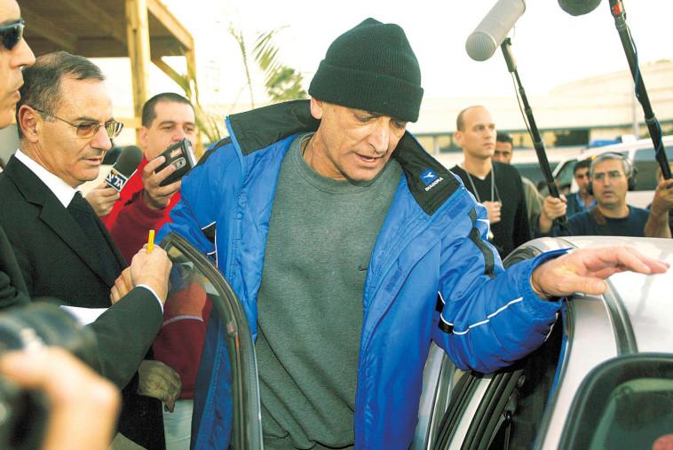 אנג'ל משתחרר מהכלא. צילום: נאור רהב