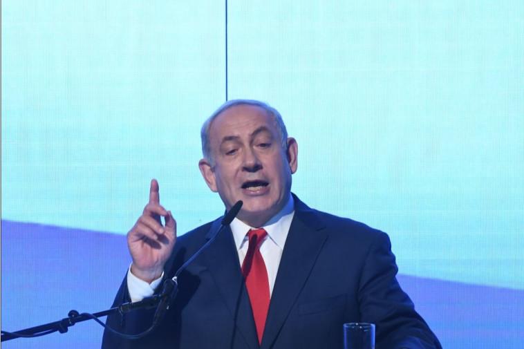 ראש הממשלה נתניהו בכנס הליכוד. צילום: אבשלום ששוני