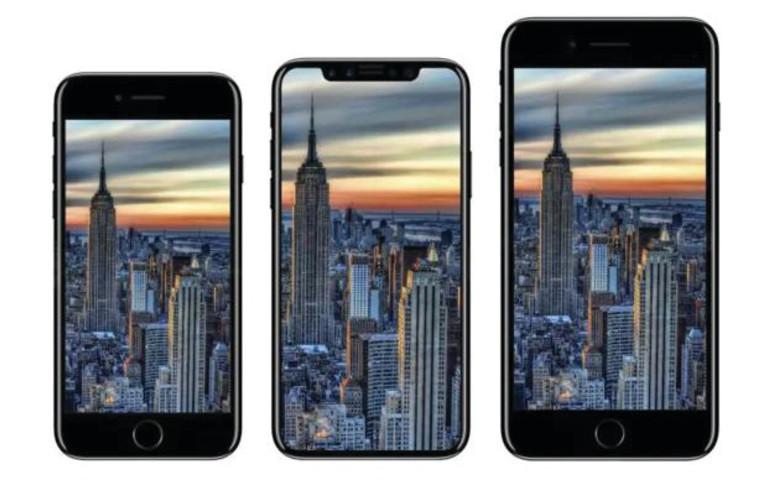 אייפון 7 ואייפון 8. צילום מסך