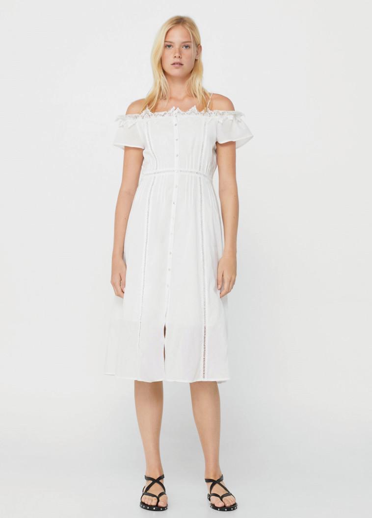 """שמלת MANGO, מחיר: 269.90 שקל. צילום: יח""""צ"""