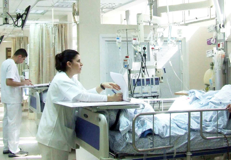 מחלקת טיפול נמרץ במרכז הרפואי זיו. צילום: המרכז הרפואי זיו