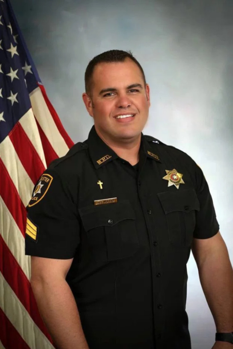 שריף כריס מוריס. צילום מסך