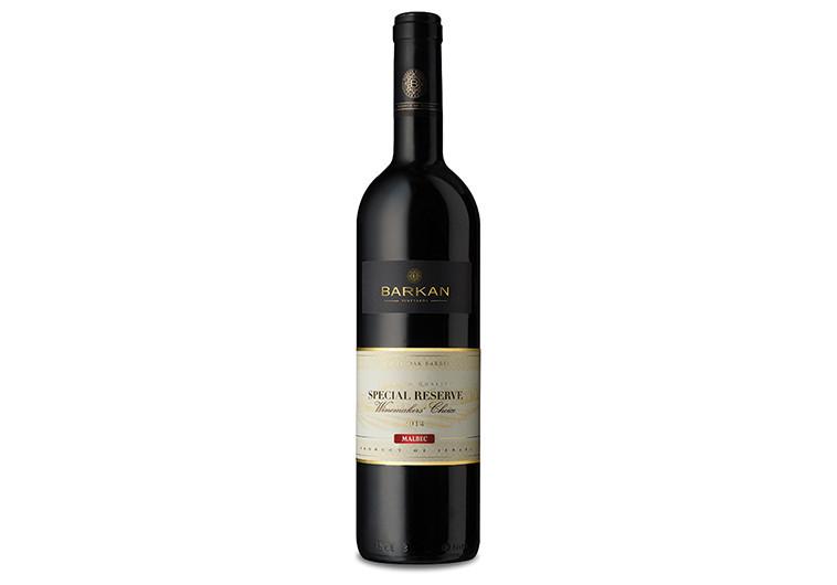"""יין מלבק של יקבי ברקן. צילום: יח""""צ"""