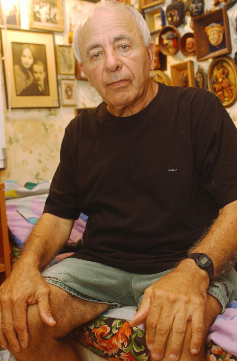 יוסף כרמון ב-2003. צילום: אלי דסה
