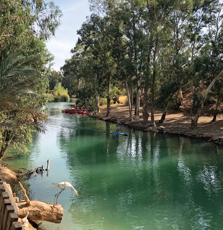נהר הירדן. צילום: מיטל שרעבי