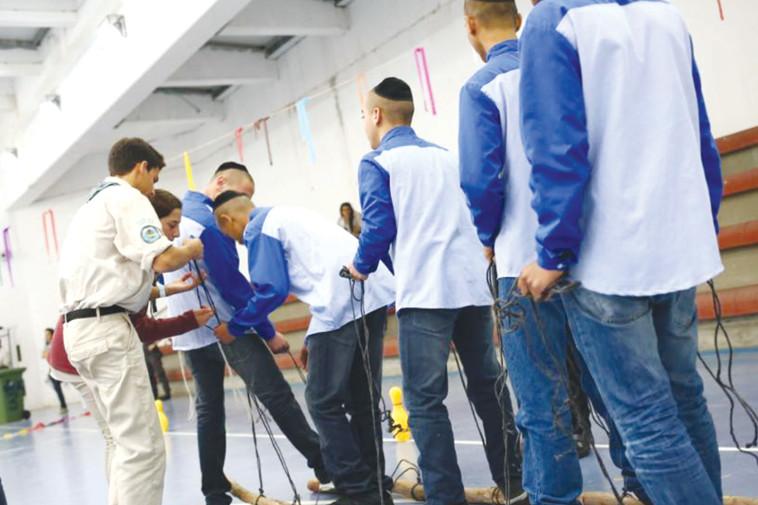 """פעילות בבית הכלא. צילום: דוברות שב""""ס"""
