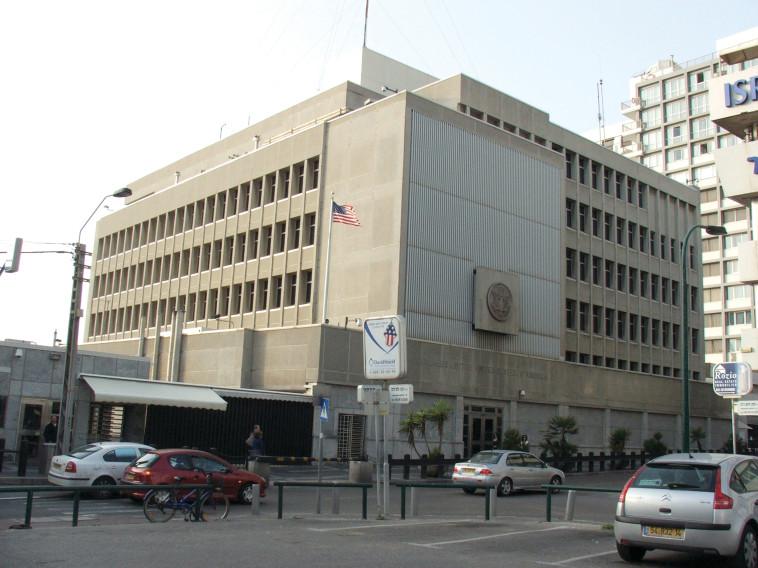בניין השגרירות האמריקאית בתל אביב, צילום: מרק ישראל סלם