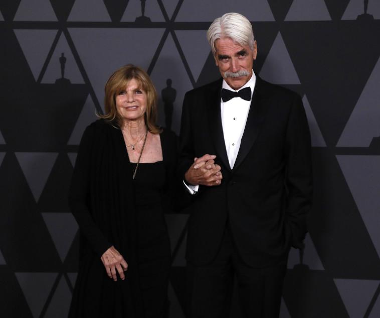 סם אליוט ואשתו קתרין. רויטרס