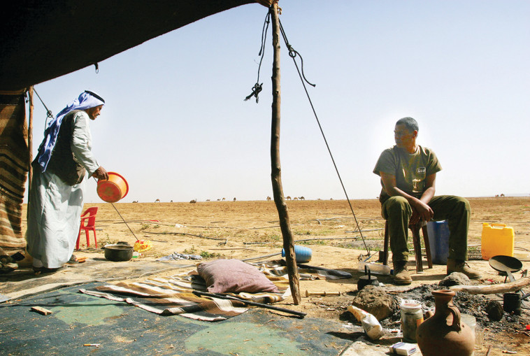 אבו סביט, אבו אל קיאן, טראבין, אל עזזמה (הפזורה הבדואית). צילום: רויטרס