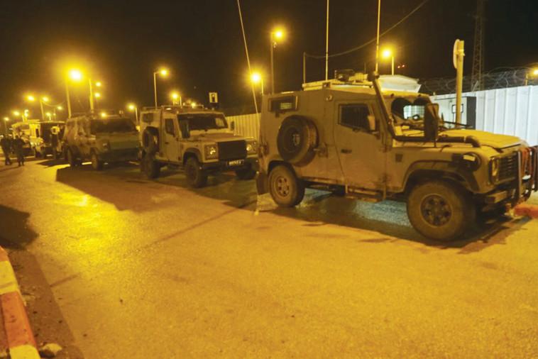 """כוחות צה""""ל בג'נין. צילום: דובר צה""""ל"""