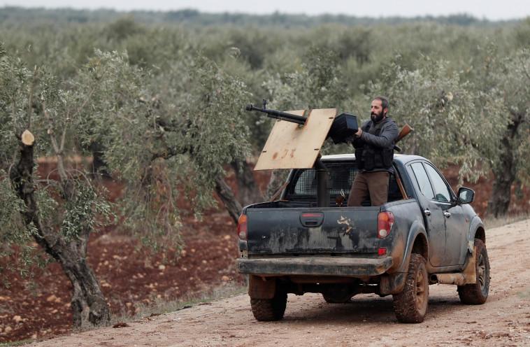 חייל של צבא סוריה החופשית. צילום: רויטרס