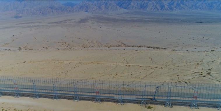 גדר הגבול עם ירדן. צילום: אריאל חרמוני, משרד הביטחון
