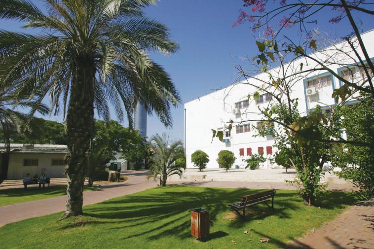 בית ספר תלמה ילין, גבעתיים. צילום: יוסי אלוני