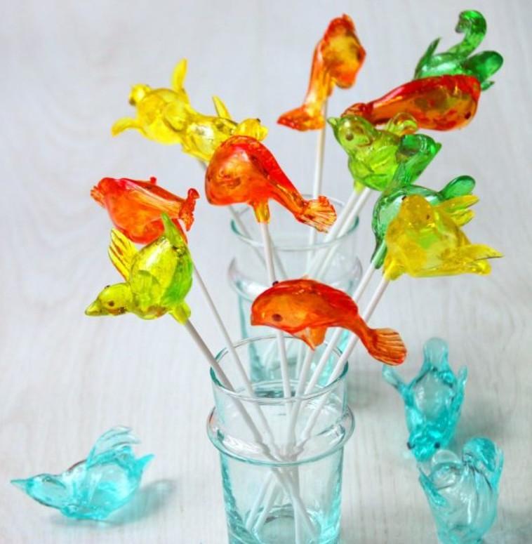 סוכריות מעוצבות בצורת דגים. צילום: פסקל פרץ-רבין