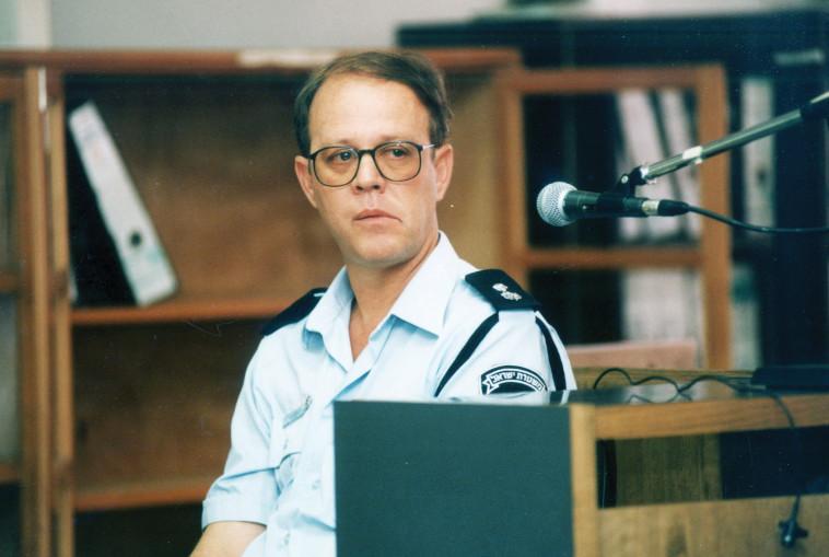 לוי מעיד במשפט דרעי. צילום: פלאש 90