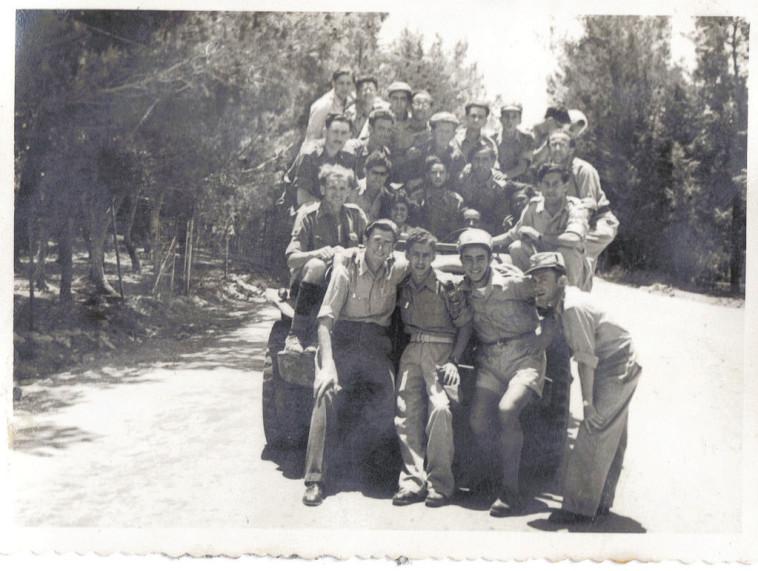 חיילי גולני ב-1948. צילום: כנרי אסאיאס משה
