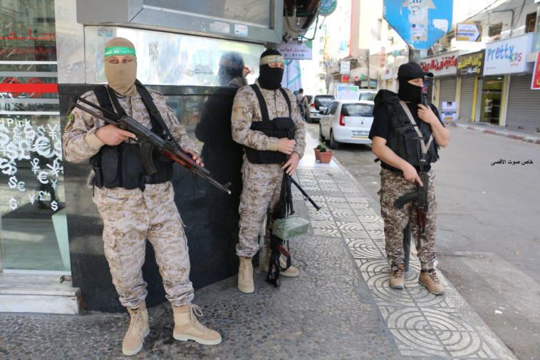 אנשי חמאס בעזה. צילום: קול אל אקצא