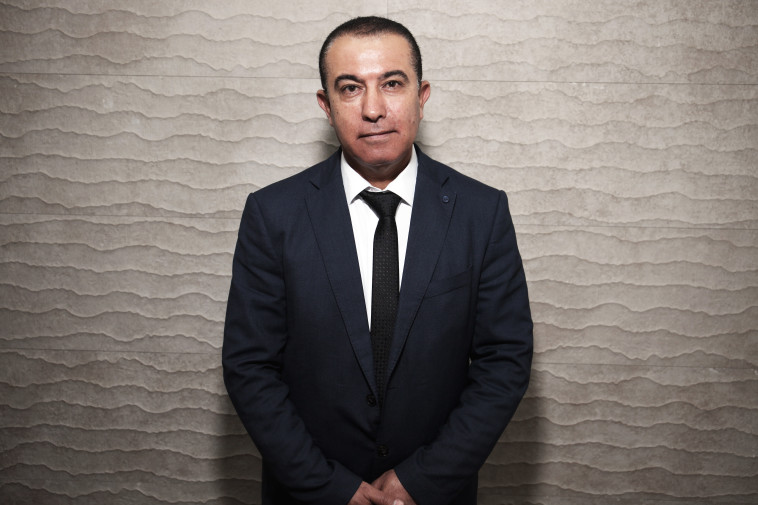 עורך הדין באשיר. צילום: אריאל בשור