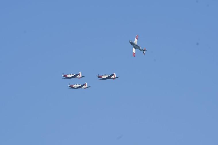מטס חיל האוויר. צילום: אבשלום ששוני