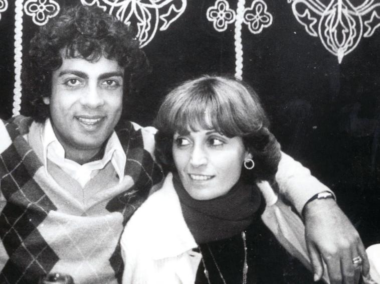 אנריקו מסיאס עם אשתו סוזי. ויליאם קראל, 24 פלוס