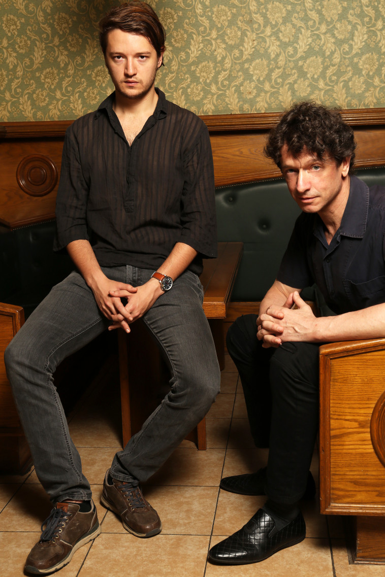 סשה ודניאל דמידוב. צלם : אריאל בשור