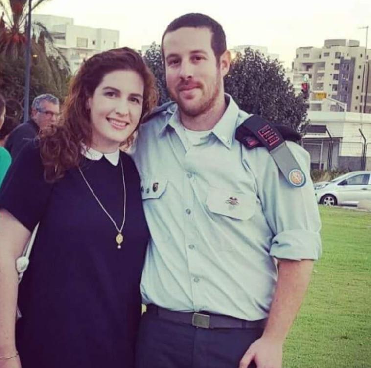 רותם שנק ואשתו. תקנה הזויה. צילום: פרטי