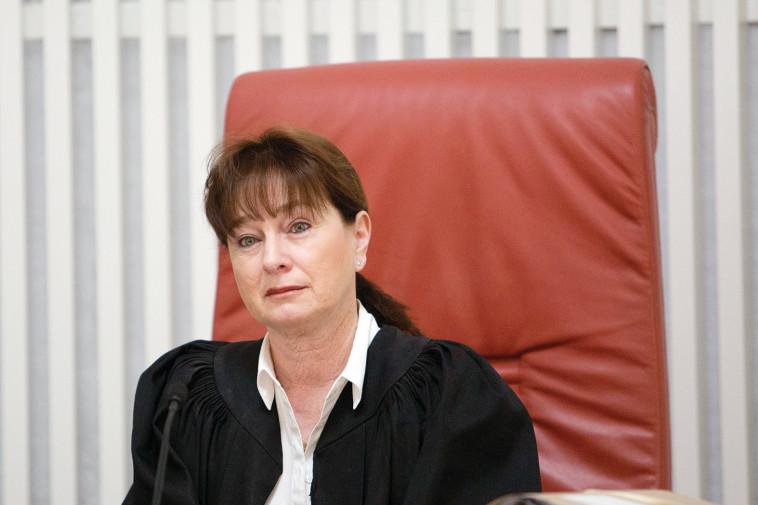 השופטת ברון. צילום: נועם ריבקין פנטון, פלאש 90