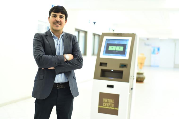 """אלון דיין, מנכ""""ל Virtual Crypto Technologies Ltd. צילום: אבידן גדעוני"""