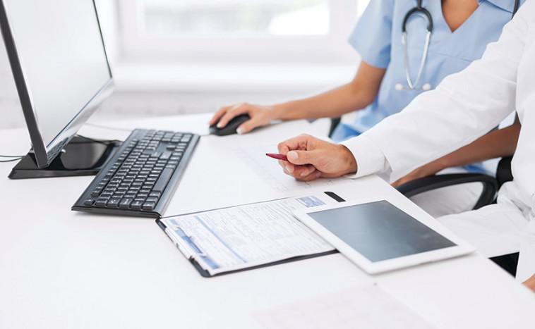 ניתוח מידע רפואי באמצעות אלגוריתם. צילום: אינגאימג'