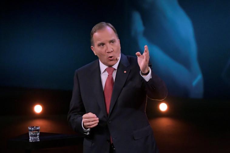 ראש ממשלת שבדיה סטפן לופבן. צילום: רויטרס