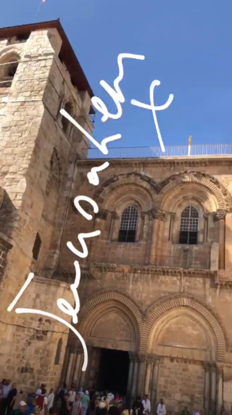 גורדון רמזי, ירושלים. צילום: אינסטגרם