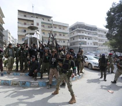 הכוחות הטורקים בעפרין