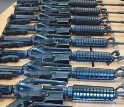 """התפיסה המשטרתית של עשרות רובים שנגנבו מצה""""ל"""
