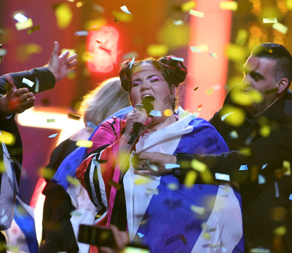נטע ברזילי זוכה בגמר האירוויזיון