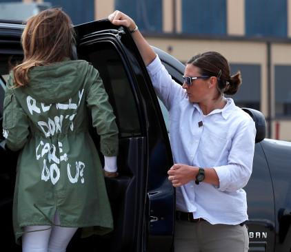 מלניה והמעיל