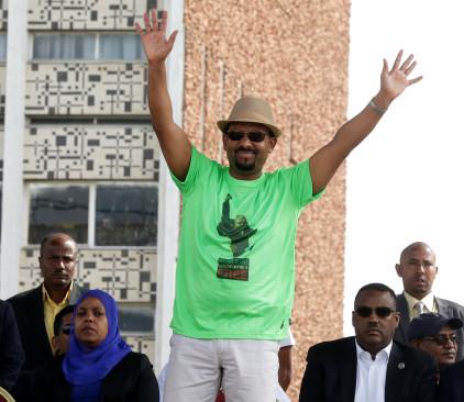 ראש ממשלת אתיופיה אבייה אחמד