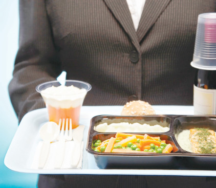 ארוחה בטיסה