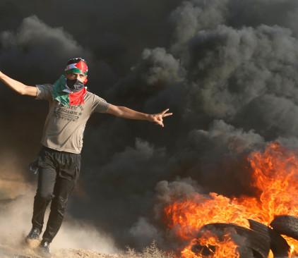 עימותים עם פלסטינים בגבול רצועת עזה