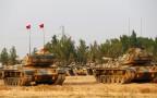 כוחות צבא טורקיה בגבול סוריה